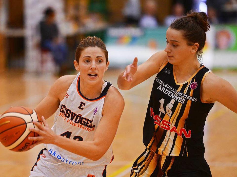 Jovana Vukoje gegen Lifija Turcinovic  | Foto: Patrick Seeger