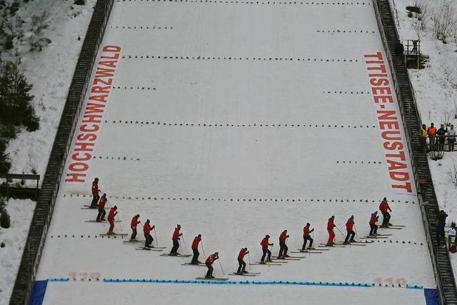 Skispringer kommen mit Doppel-Weltcup nach Neustadt zurück