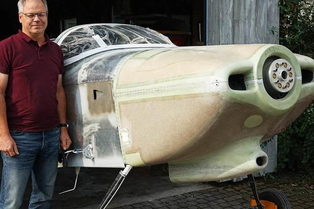 Luftsportler aus Maulburg baut eigenes Flugzeug