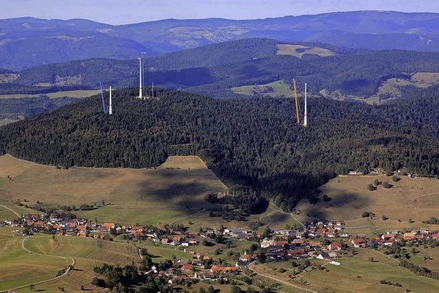 Erster Windpark im Kreis