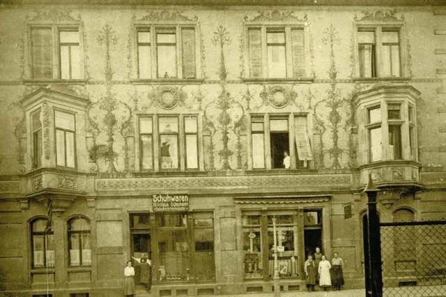 Ein Doppelhaus an der Basler Straße beherbergte einst den