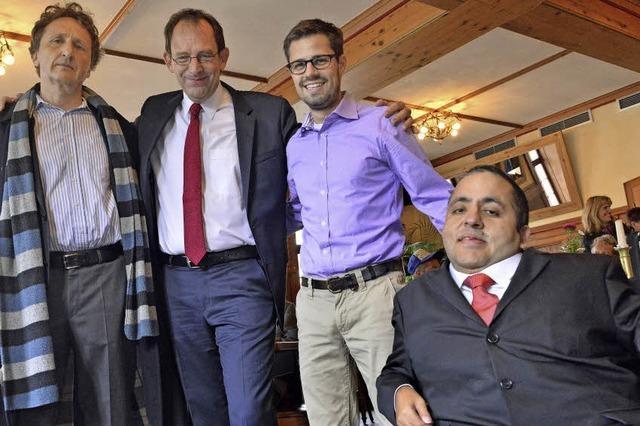 Vier Bewerber für die Nachfolge von Gernot Erler haben sich vorgestellt