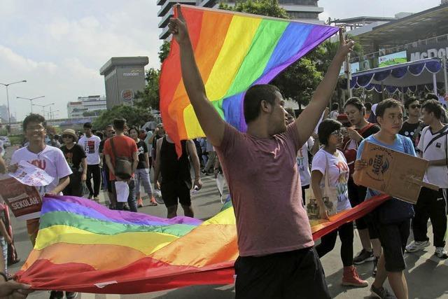 In Indonesien wächst die Intoleranz gegenüber Homosexuellen