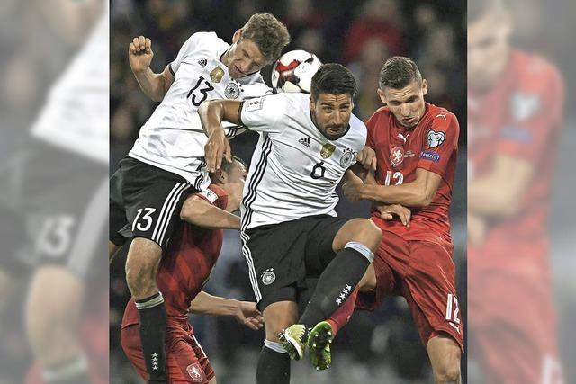 Die deutsche Fußball-Nationalelf glänzt beim 3:0-Sieg über Tschechien