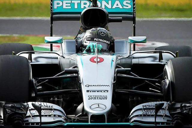 Nico Rosberg gewinnt den Großen Preis von Suzuka