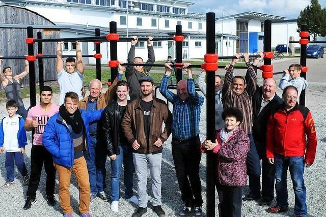 Outdoor-Fitnesspark in Ichenheim eröffnet