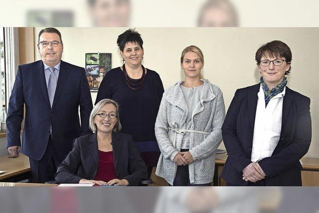 Neu-Organisation im Büro der Bürgermeisterin