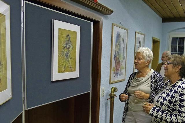 Ausstellung mit dem Nachlass des verstorbenen Künstlers Pater Donatus M. Leicher