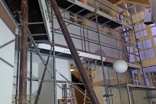 Neuer Eingangsbereich für das Krankenhaus Loreto