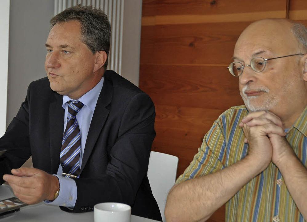 Optimistisch: Schachclub-Vorsitzender ...iche Leiter Christof Herbrechtsmeier.   | Foto: Robin Wille