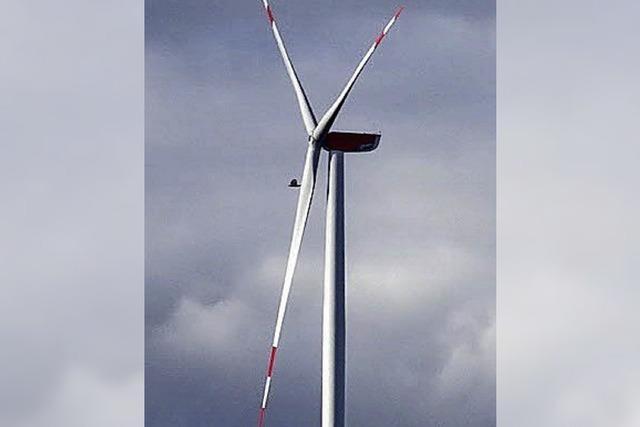 Windräder: Der Bau geht los