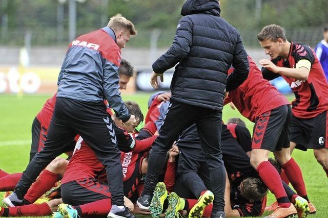 Später Siegtreffer für SC Freiburg