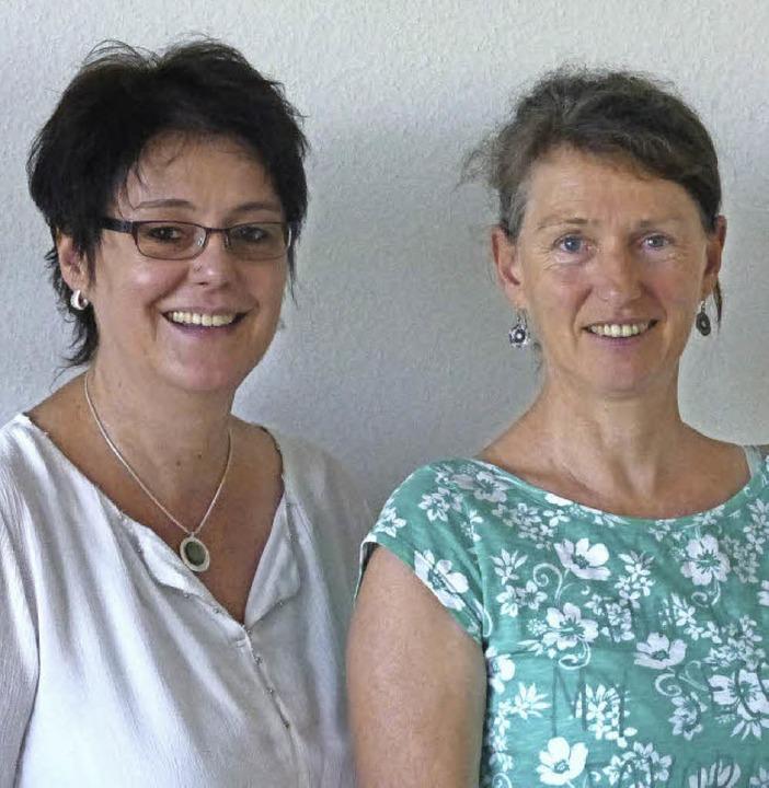 Ulrike Meister (links) und Heike Ostrowski  | Foto: Andrea Gallien