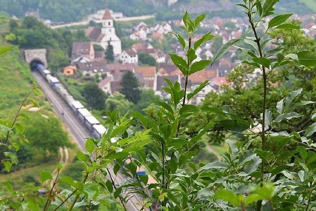 Noch zu viele Güterzüge auf alten Rheintalstrecke