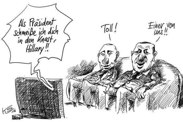 Treffen in Istanbul . . .