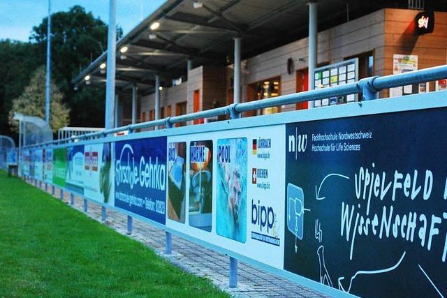 Lörracher Sportvereine bekommen künftig 90 Prozent der Werbeeinnahmen