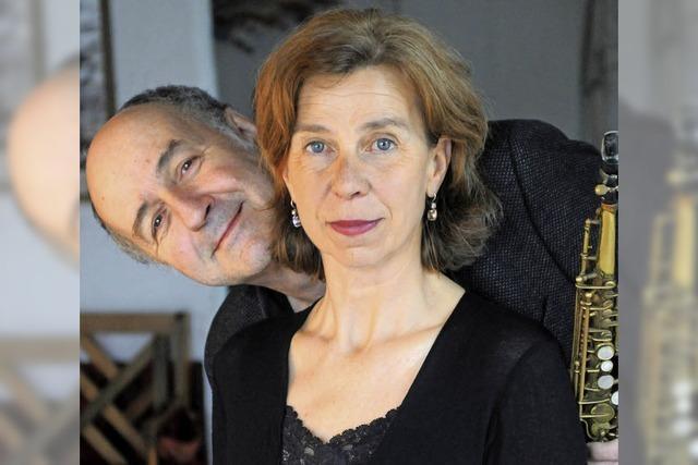 Petra Gack und Mike Schweizer in Müllheim