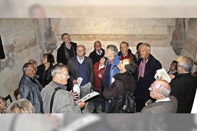 40-köpfige Delegation des Generallandesarchivs zu Besuch im Breisgau