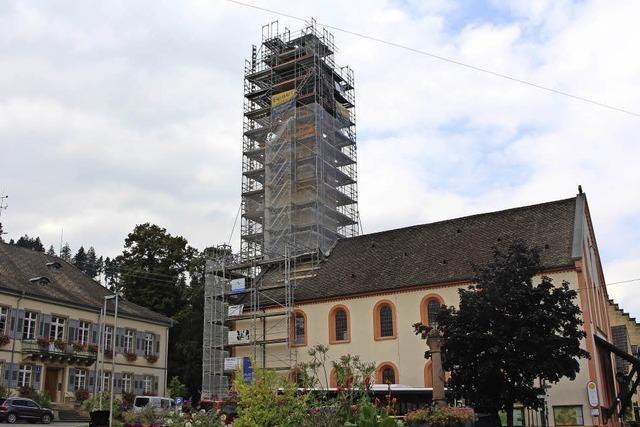 Ziffernblätter der Kirchturmuhr sind nicht mehr zu sanieren