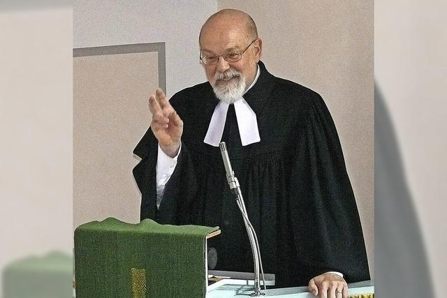 Pfarrer Jürgen Barth sagt Adieu