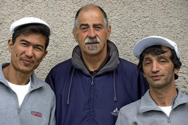 Für Flüchtlinge auf Jobsuche