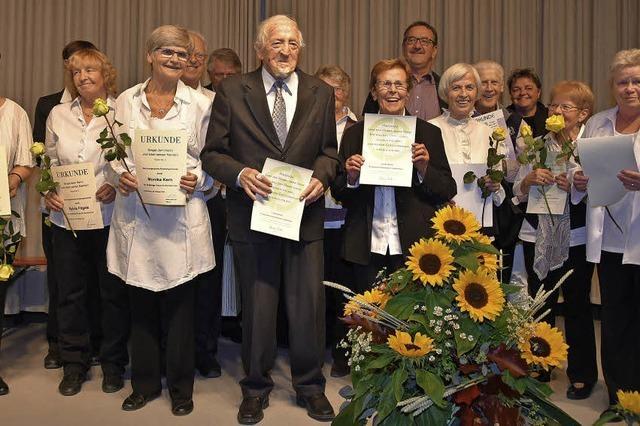 70 Jahre evangelischer Kirchenchor
