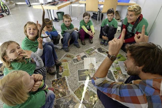 1300 Kinder lernen, experimentieren und staunen bei den Tagen des Wissens im Bürgerhaus Seepark