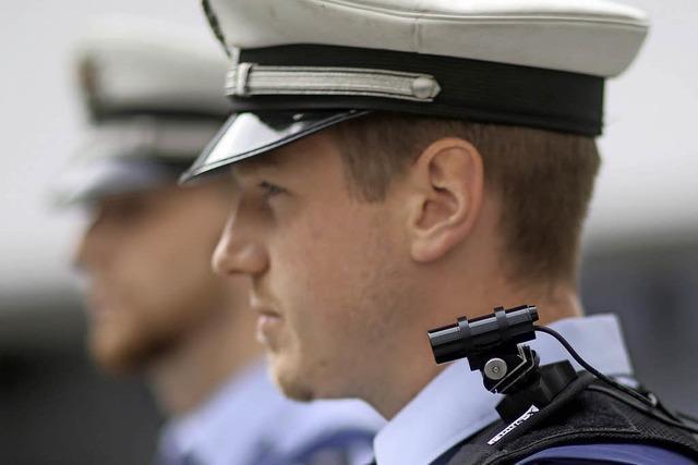 Koalition beschließt Bodycams für Polizisten