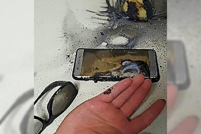 Samsung beerdigt sein explosives Handy