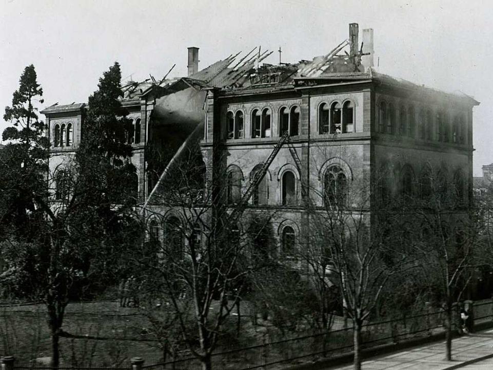 Schwer getroffen wurde das Anatomische...ei einem Fliegerangriff im April 1915.  | Foto: Privat