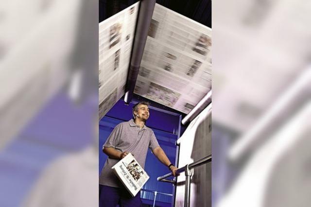 Zu Gast bei der Badischen Zeitung