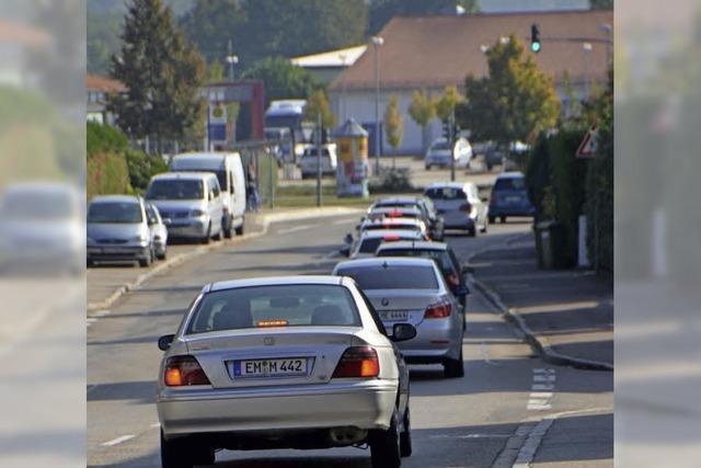 """Weniger Verkehr durch einen """"Kurzschluss"""" der B3/B294 bei Denzlingen?"""