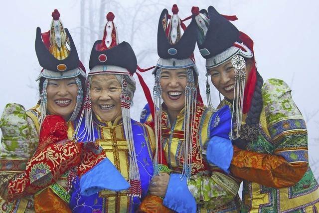 Baasansuren Khandsuren informiert über mongolischen Buddhismus