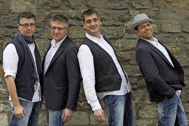 Das Quartett Fabulous Four im Schlosskeller