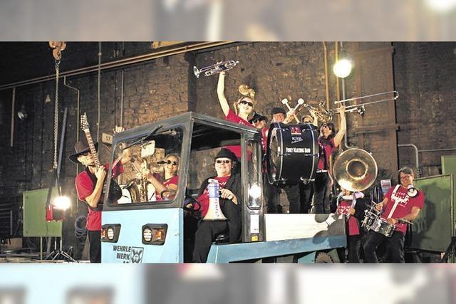 Die Funky Marching Band kommt nach Bad Krozingen