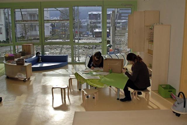 Mehr Plätze für Kinderbetreuung