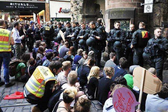 Protestzug der Piusbrüder: Geldstrafe für Blockierer