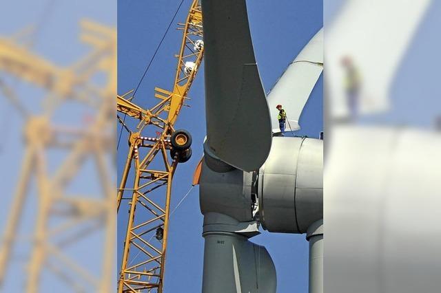 Keine Flächen für eine Windkraftanlage