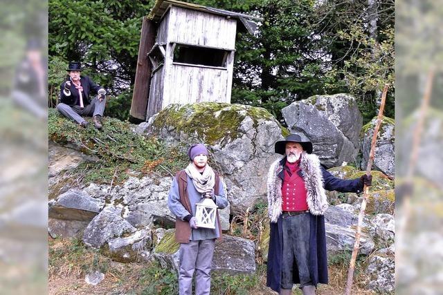 Guter Geist im Tannenwald