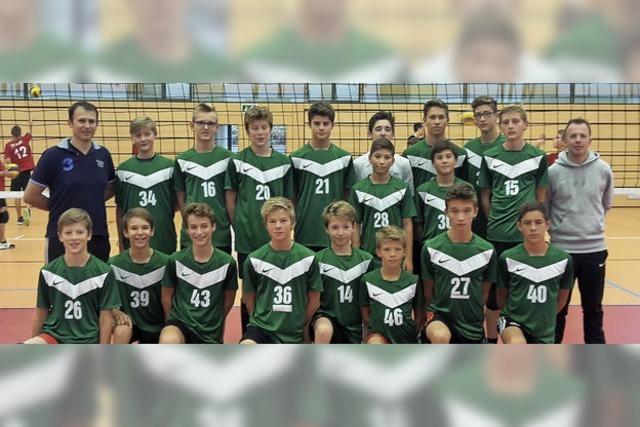 Jugend-Volleyballer stark im Ländle