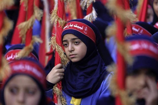 Schiitische Pfadfinder in Trauer