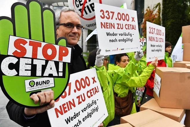 Verfassungsgericht billigt vorläufige Anwendung von Ceta