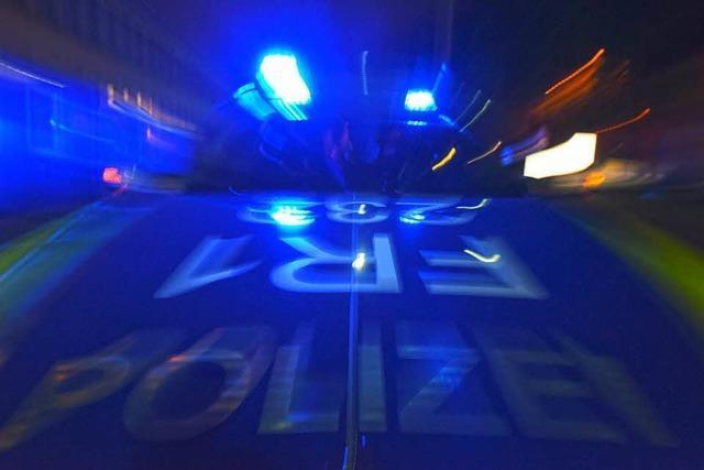 Bewaffneter Raubüberfall auf Discounter – Fluchtfahrzeug hatte französisches Kennzeichen