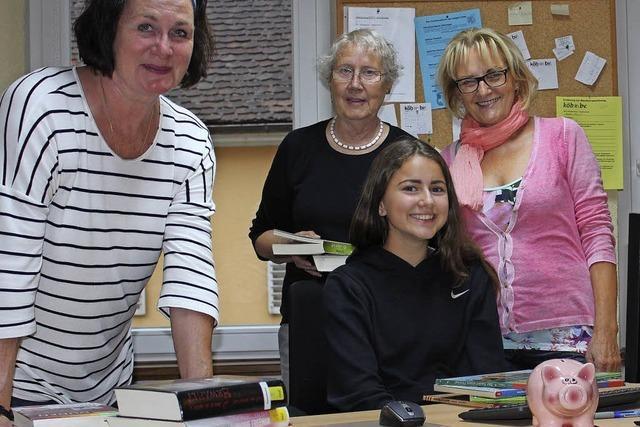 Bücherei öffnet künftig häufiger