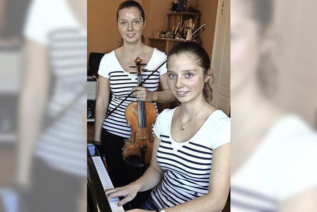 Hanna und Katrin Friedrich geben Benefizkonzert im Bad Säckinger Kursaal