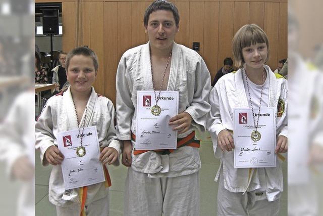 Judoka mit Handicap