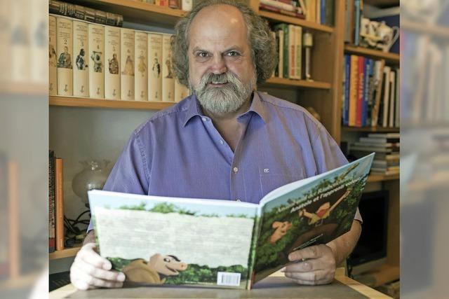Karl-Heinz Debacher hat den zweiten Band seines Kinderbuchs geschrieben