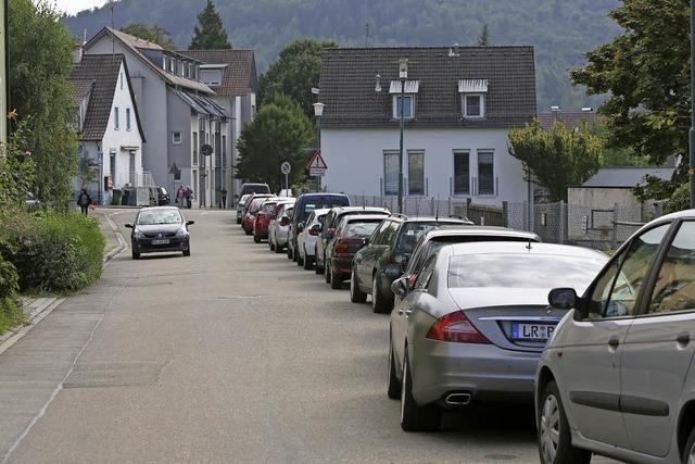Immer mehr Autos im Wohngebiet