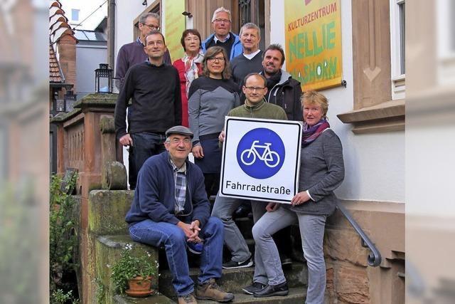 Eine richtige Fahrradstraße als Ziel