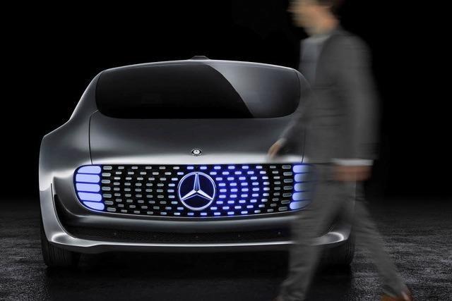 Lichtspiele am Auto